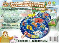Плакат сенсорный география