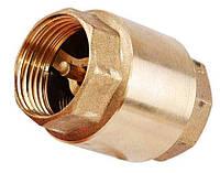 Обратный клапан муфтовый подпружиненный латунный СТС, Ду 15