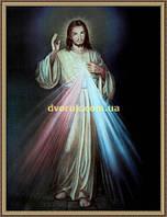 Образ Иисус 200х240мм №135 в багетной рамке