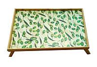 """Бамбуковый столик раскладной """"Olive"""" для завтрака в постель"""