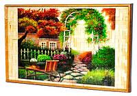 """Бамбуковый столик раскладной """"В саду"""" для завтрака в постель"""