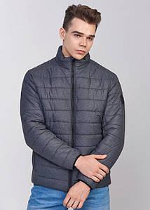 Мужская весенняя куртка К -1 серый