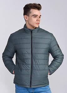 Мужская весенняя куртка К -1 бирюза