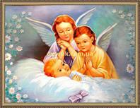 Образ Ангелочки 200х240мм №114