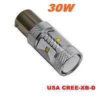 Светодиодная лампа цоколь 1156 6-SMD CREE 3535 30Вт 650Lm, 12В Код: 653601325