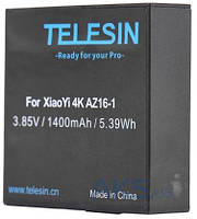 Аккумулятор для экшн-камеры Xiaomi Yi 4K Telesin