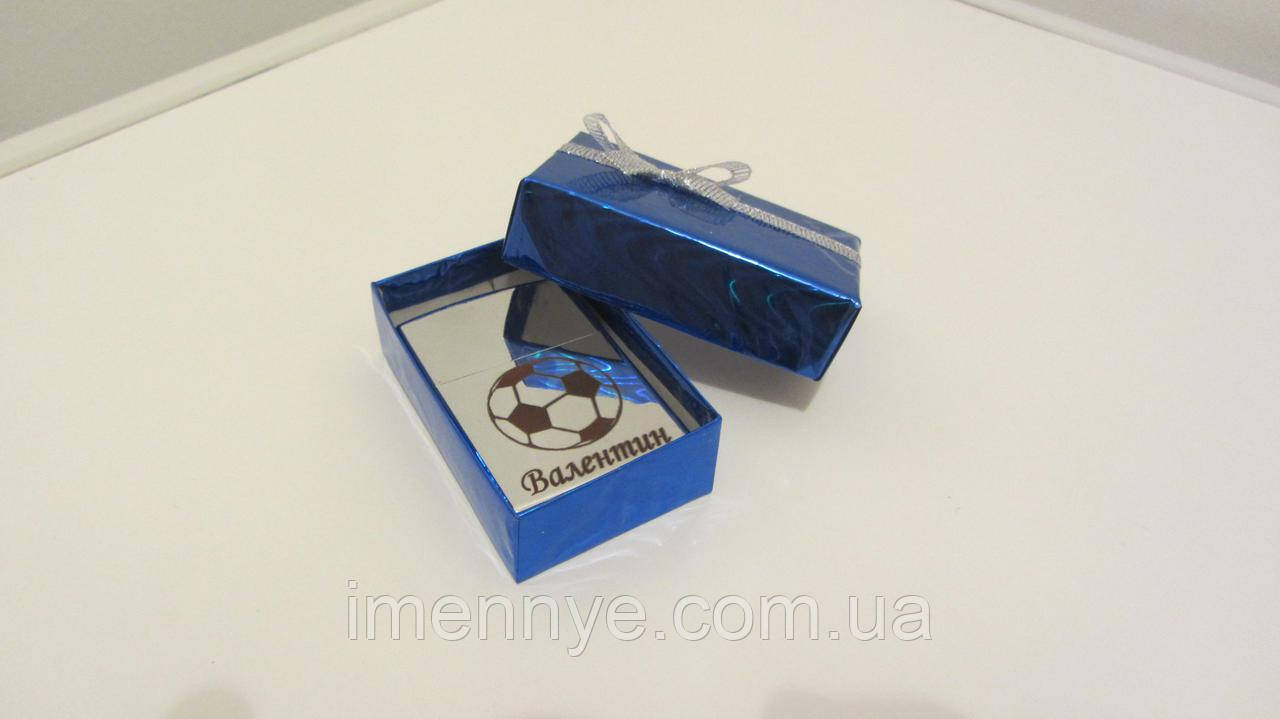 Красивая упаковка для зажигалки с гравировкой на подарок