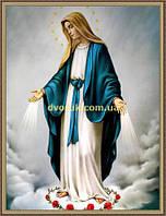 Образ Богородиця 200х240мм №113 в багетній рамі