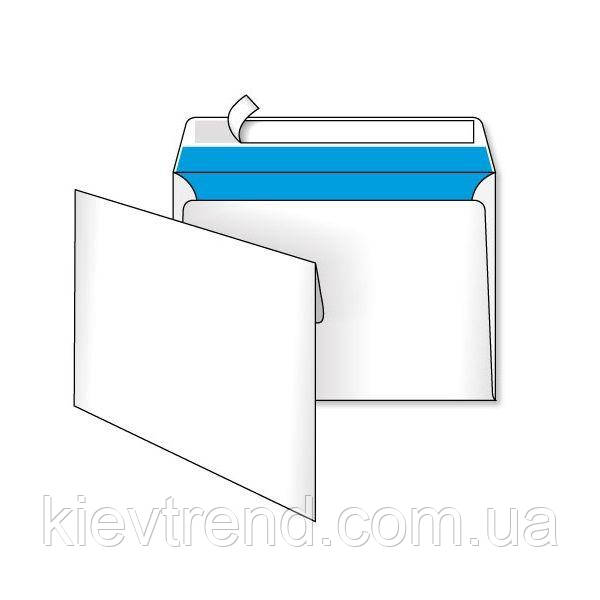 Конверт бум. DL скл 110*220  белый (уп.25/1000шт)