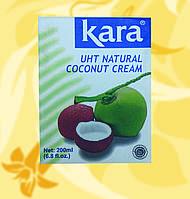 Сливки кокосовые, натуральные 24%, Kara, 200г, Мо