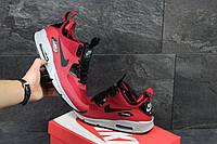 Кроссовки мужские Nike Air Max 90 Ultra Mid красные в фирменных коробках