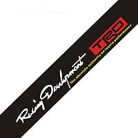 Cолнцезащитная наклейка на лобовое стекло Racing Development TRD, фото 1