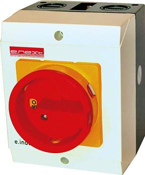 Пакетный переключатель в корпусе e.industrial.sb.1-0.4.32, 3р+N, 32А (0-1)