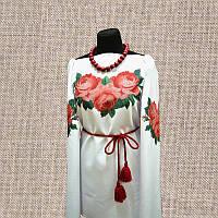 Женская сорочка бисером (нитками) ВМ-СЖ-10. Заготовка под вышивку.