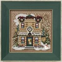 """Набор для вышивания """"Clock Shoppe//Магазин часов"""" Mill Hill"""