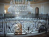 Эксклюзивные кованые перила ручной работы