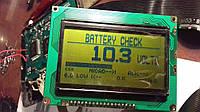 White's Spectrum XLT дисплей тестированный без подсветки.