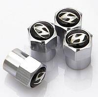 Колпачки на ниппель с логотипом  Hyundai