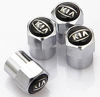 Колпачки на ниппель с логотипом  KIA