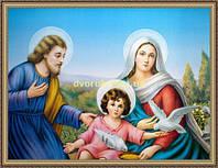Образ Святе сімейство 200х240мм №109 в багетній рамці