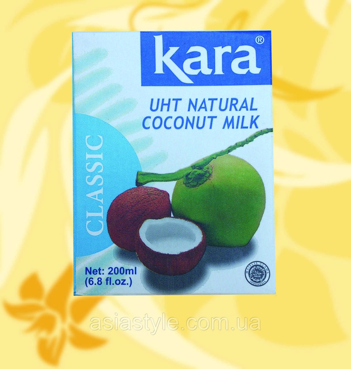 Кокосове молоко 17%, Kara, 200мл, Мо