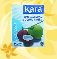 Кокосовое молоко 17%, Kara, 200мл, Мо