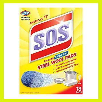 Моющее средство будущего S.O.S Steel Wool Pads, фото 2