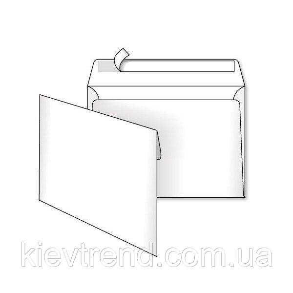 Конверт бум. С5 скл. 162*229 белый (уп.500шт)