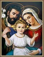 Образ Святе сімейство 200х240мм №108 в багетній рамці