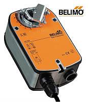 LF24-S Привод Belimo с возвратной пружиной и доп контактом для воздушной заслонки 0,8 м²