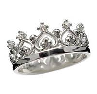 """Серебряное кольцо """"Королева"""""""