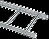 Лоток лестничный 100х300х3000, 1,2 мм