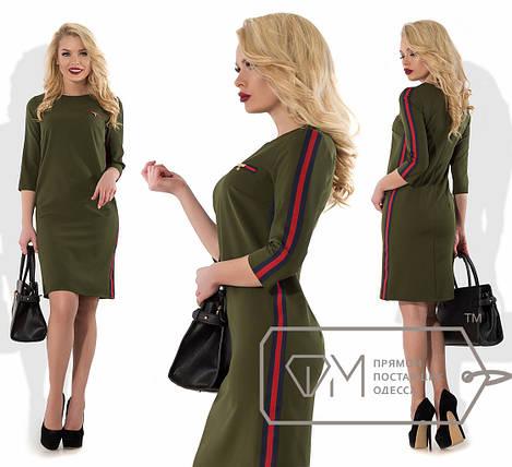 Однотонное платье, фото 2