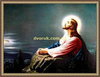Образ Моління про чашу 200х240мм №106 в багетній рамці