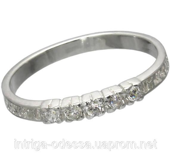 Серебряное охранное кольцо 1021к.