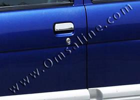 Накладки на ручки (5 шт., нерж.) - Daihatsu Terios 2003-2005 гг.