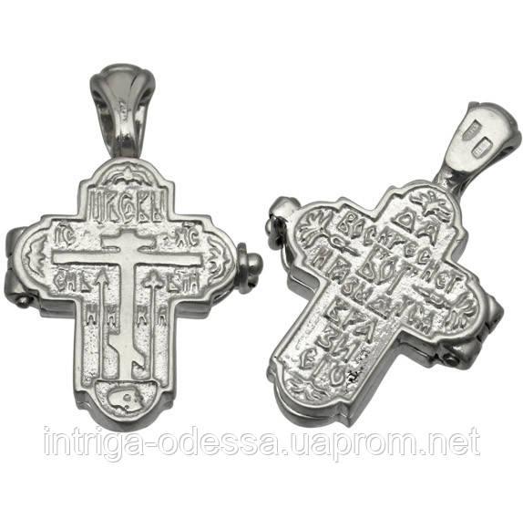 Крест мощевик с Молитвой Честно́му Кресту 1031кр