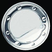 Ford Fusion 2002-2009 гг. Накладка на лючок бензобака (нерж.)