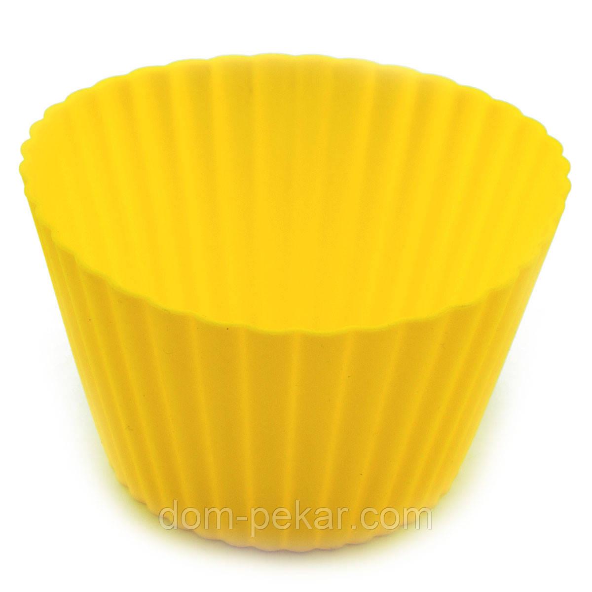 Кекс порционный большой силиконовый 1шт
