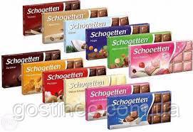 Шоколад Shogetten 100г в ассортименте