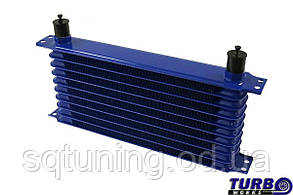 Масляный радиатор TurboWorks Race Line 10-рядный 300x70x50 AN10