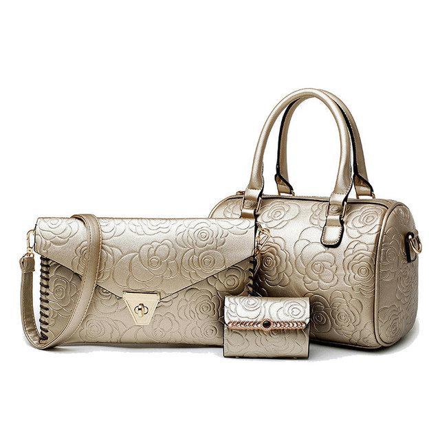 7f6c088b3b74 Набор женских сумок, 2 вида стильные сумки 3в1: продажа, цена в ...