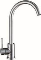 Смеситель на кухню, для кухни с нержавейки 100% без добавок U SAP4-A090 (Нерж) ZEGOR (TROYA)