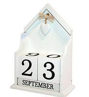 Вечный календарь «Из года в год» Размер - 22-14-8 см.