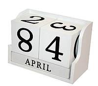 Вечный календарь «Из года в год» Размеры: 14-7-9 см.