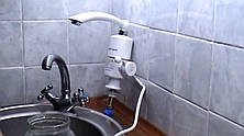 Проточный водонагреватель Делимано с Душем, фото 2
