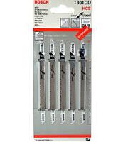 «Bosch» Т301CD HCS пилки для лобзика по дереву