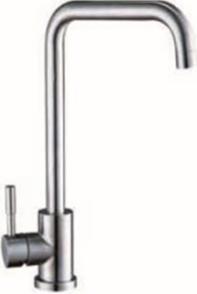 Смеситель на кухню нержавейка 100% без добавок, смеситель для кухни U SAP4-B090  ZEGOR (TROYA)
