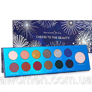 Тени для глаз Coloured Raine CHEERS TO THE BEAUTY - LIMITED EDITION (13 цветов)