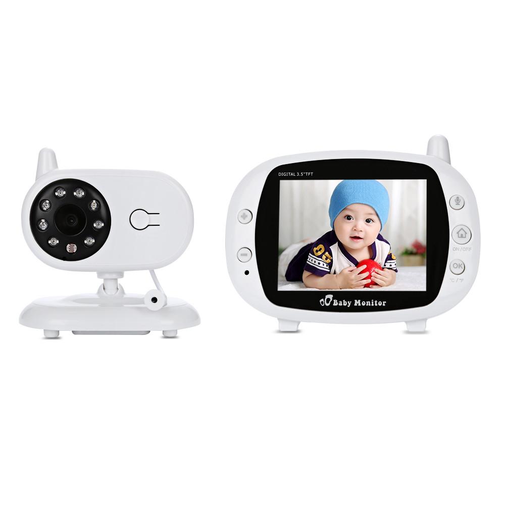 Видеоняня Baby Monitor с экраном 3.5 дюймов. Режим ночного видения и двусторонняя связь